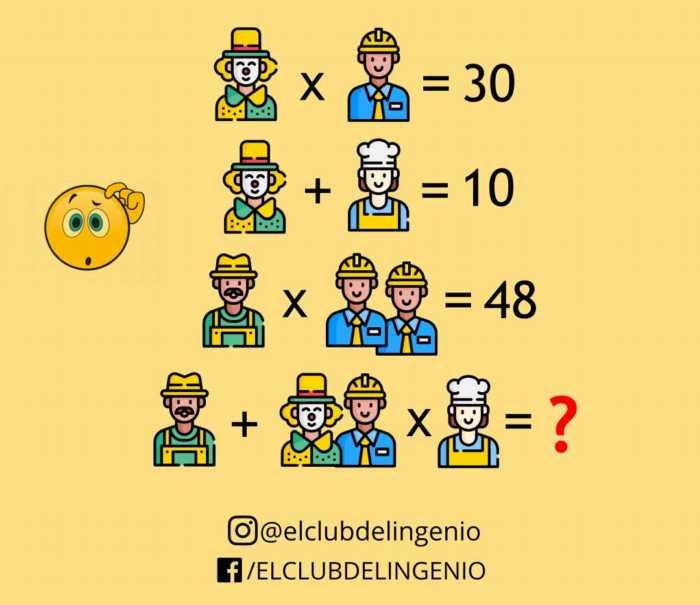 Nuevo rompecabezas lógico matemático con avatares