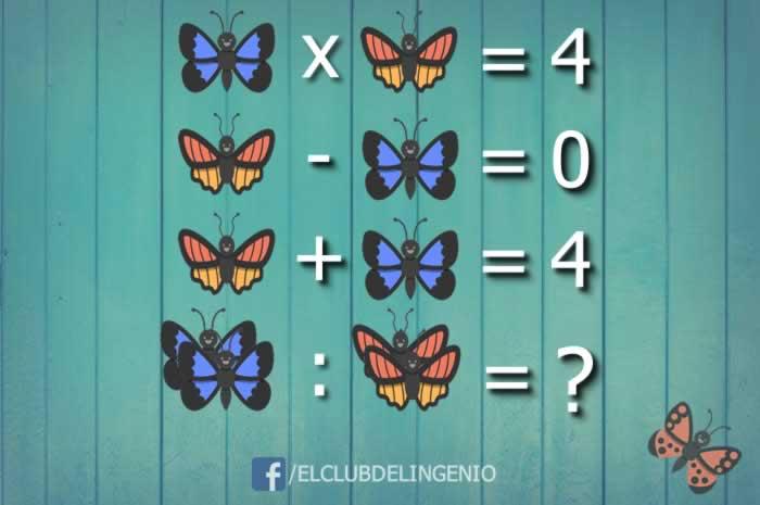 Nuevo rompecabezas lógico matemático