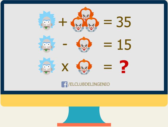 Diviértete resolviendo este rompecabezas lógico matemático