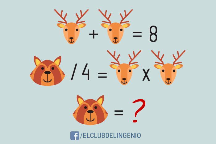Otro rompecabezas lógico matemático para entrenar tus neuronas