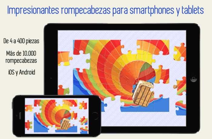 Impresionantes rompecabezas para smartphones y tablets