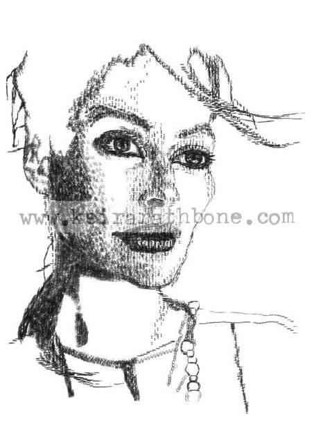 Keira Rathbone. Cara de mujer