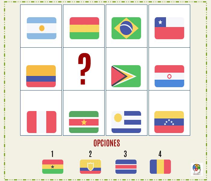 Serie de banderas para entrenar tu mente