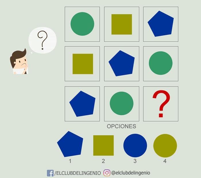 Un juego de lógica y razonamiento con formas y colores
