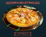 Sopa de letras interactiva temática: La paella