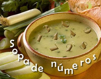 Sopa interactiva de números