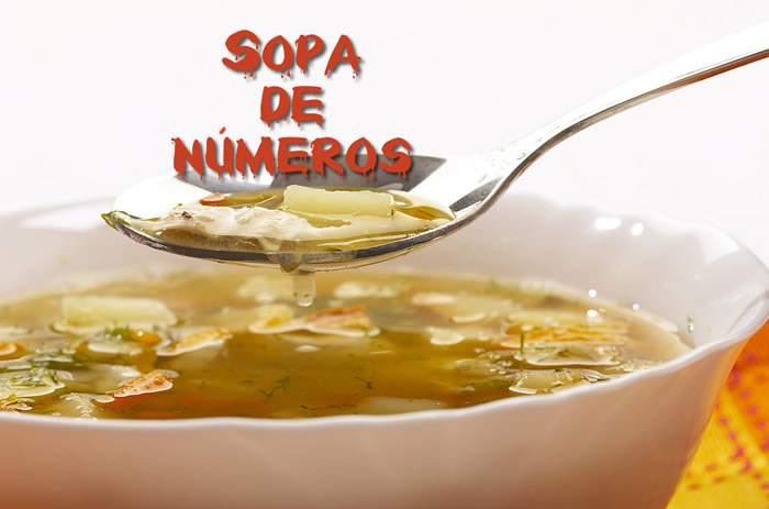 Sopa de letras interactiva numérica