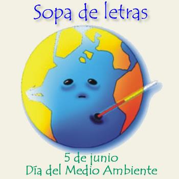Sopa interactiva día del medio ambiente