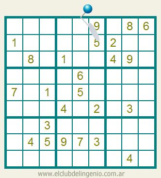 sudoku fácil de resolver