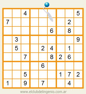 Sudoku ideal para principiantes