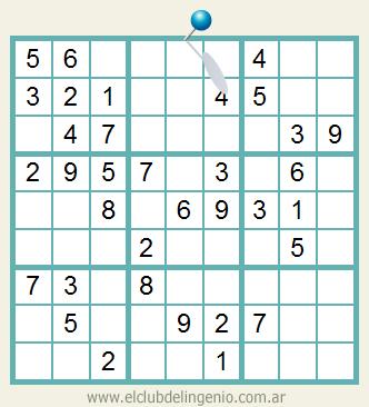 Sudoku interactivo para principiantes