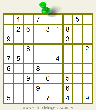 Jugar sudoku interactivo