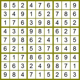 Sencillo sudoku para principiantes  El Club del Ingenio  Juegos