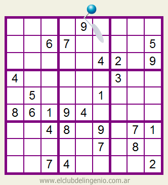 Difícil sudoku para imprimir