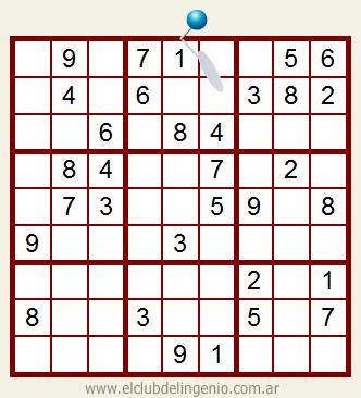Sencillo sudoku para niños
