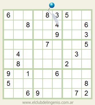 Sudoku fácil de resolución