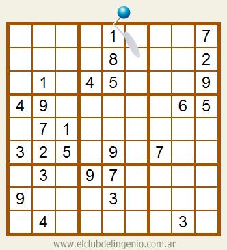 Difícil sudoku interactivo para descargar