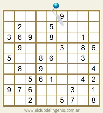Sudoku interactivo para niños