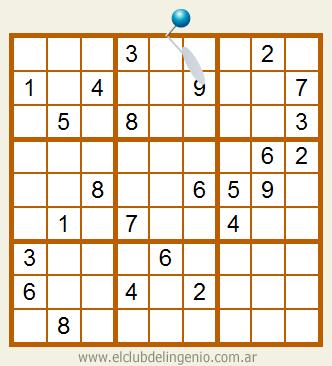 Sudoku difícil de resolver