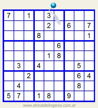 Fácil sudoku para imprimir