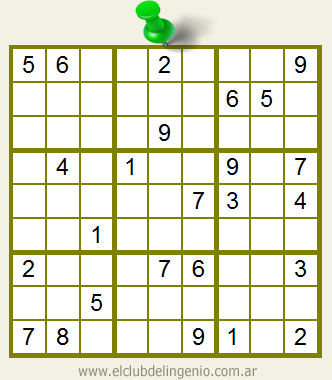Sudoku para resolver on-line