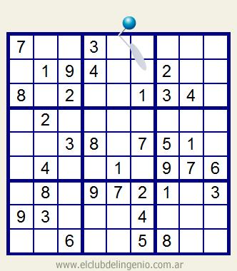Sudoku interactivo on-line
