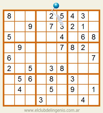 Sudoku muy fácil