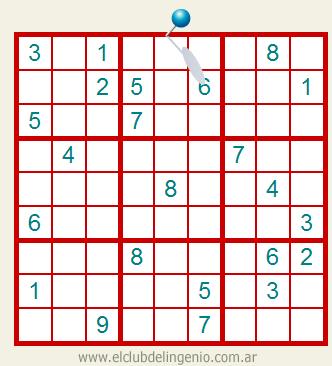 Sudoku interactivo de mediana dificultad