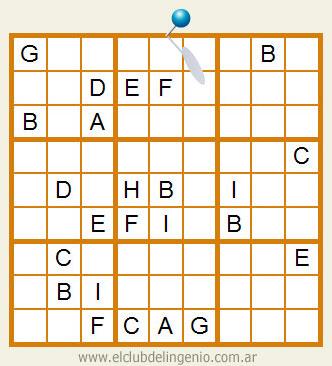 Sudoku con letras