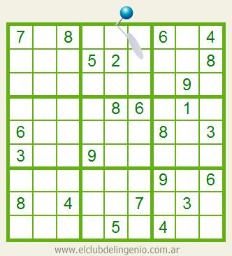 Difícil sudoku interactivo