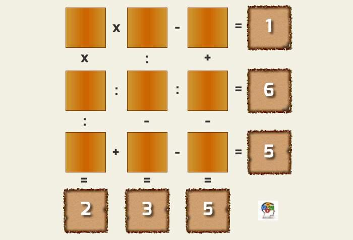 Resuelve este tablero matemático