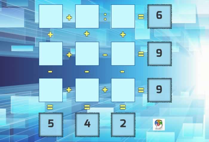 Demuestra tu habilidad de cálculo y resuelve este tablero matemático