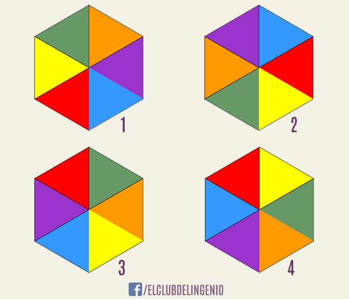 Un juego de lógica con formas y colores